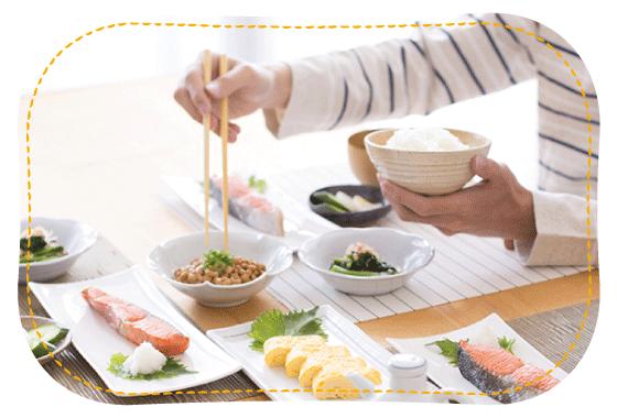 納豆食事イメージ